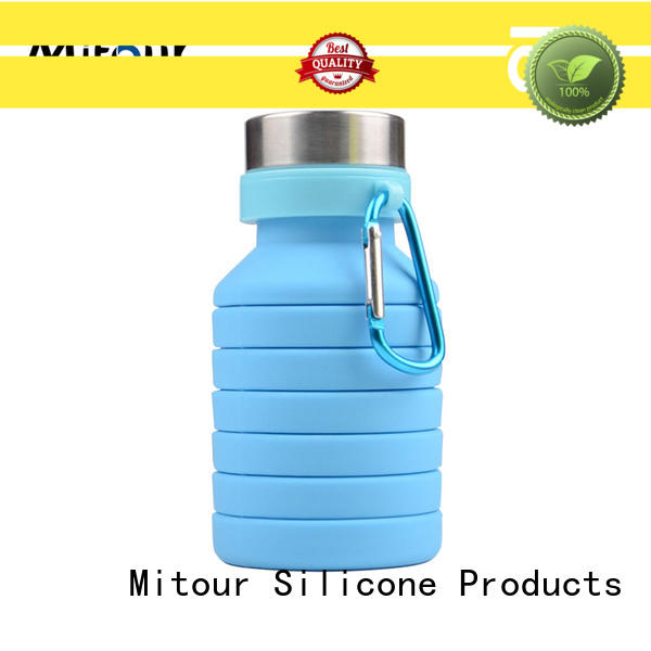 outdoor silicone water bottle safety camouflage for children Mitour Silicone Products