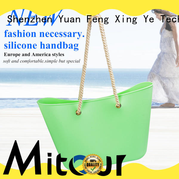 custom silicone cooking bag backpack for girls Mitour Silicone Products