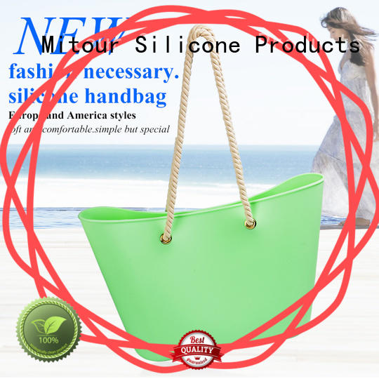 OEM pvc handbag inquire now for trip Mitour Silicone Products