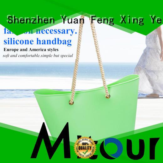 Mitour Silicone Products custom designer handbag factory for travel