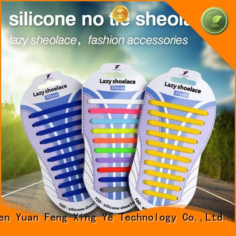 bulk silicone shoelace for shoes Mitour Silicone Products