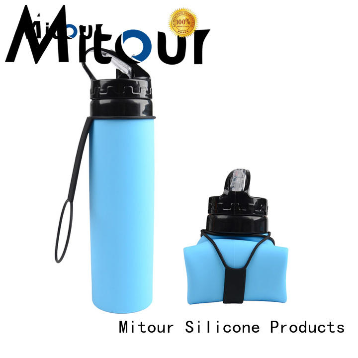 collapsible collapsible water bottle silicone for wholesale for children