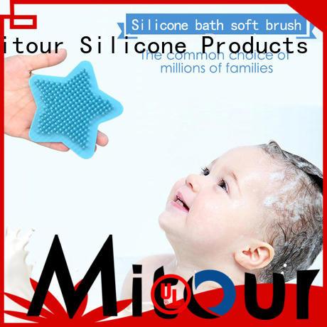 durable silicone brush bulk production for bath