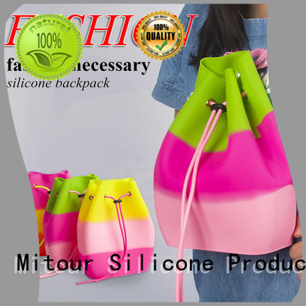 silicone shoulder bag OEM for travel Mitour Silicone Products