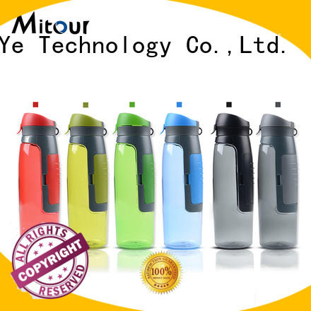 straight silicone water bottle safety for wholesale for water storage Mitour Silicone Products