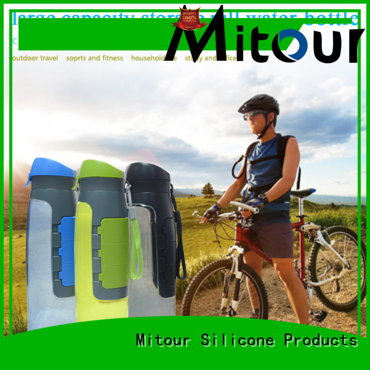 collapsible silicone travel bottles for wholesale for children