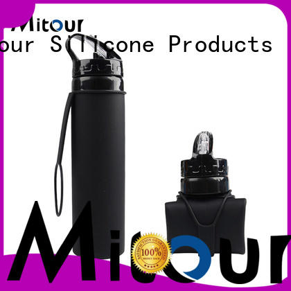 Mitour Silicone Products silicone foldable bottle supplier for children