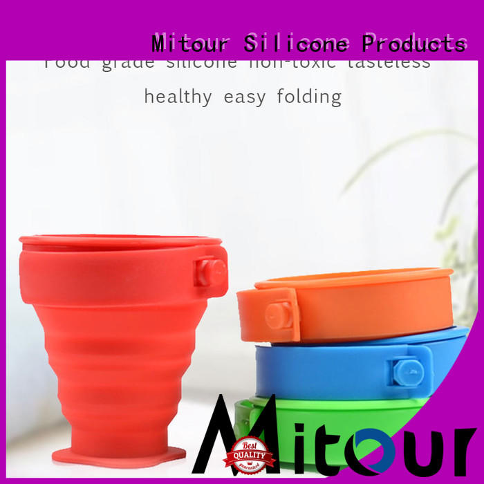 purse silicone travel bottles bulk production for water storage Mitour Silicone Products
