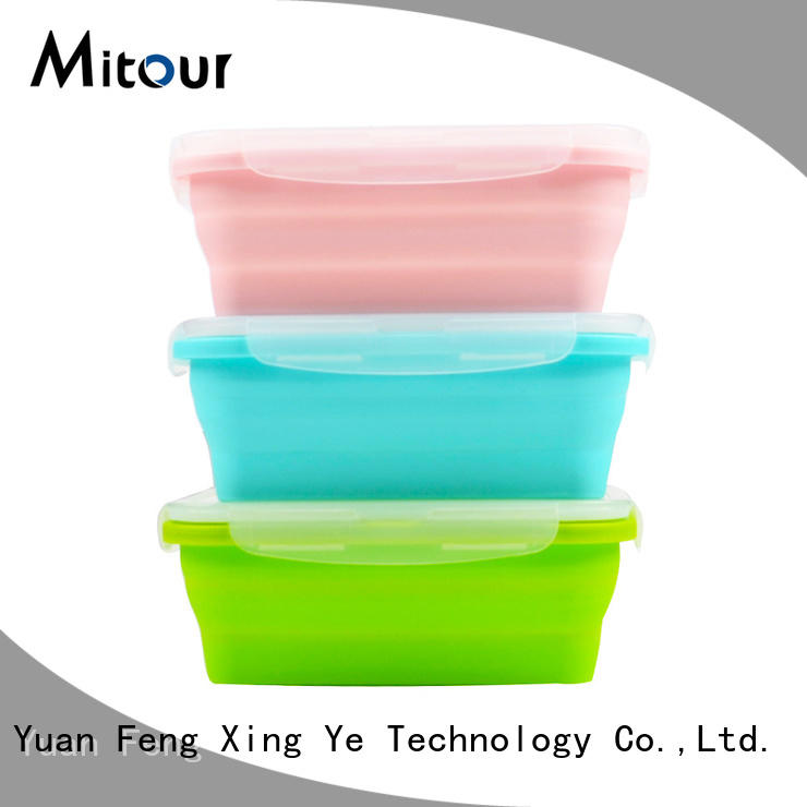 Mitour Silicone Products foldable rubber placemats company for baby