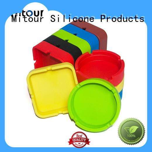 silicone custom ashtray ashtray for smoking Mitour Silicone Products
