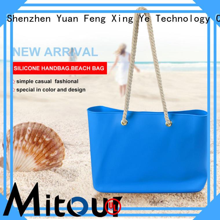 silicone pvc handbag OEM manufacturer for travel