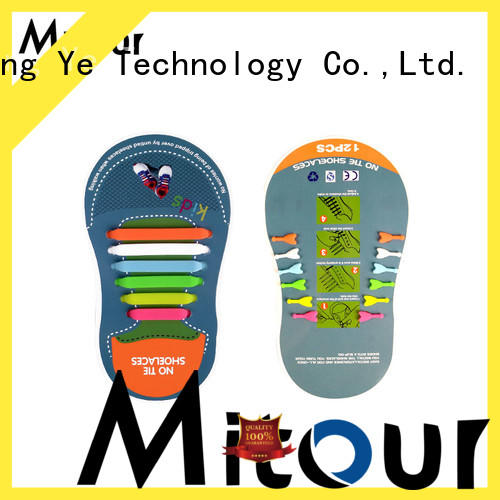 lazy silicone no tie shoelaces for child Mitour Silicone Products