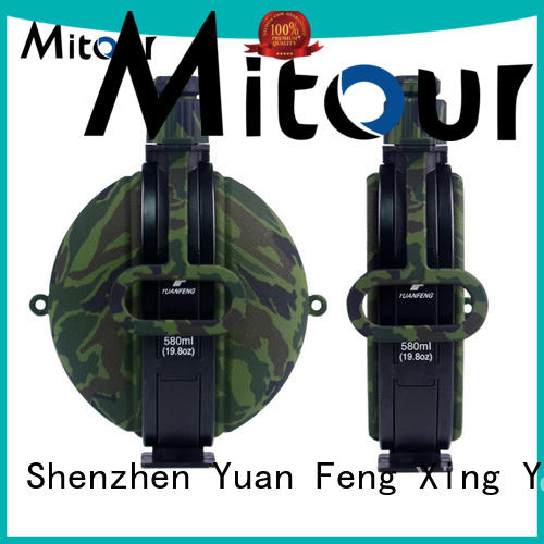 Wholesale purse collapsible camping kettle Mitour Silicone Products Brand