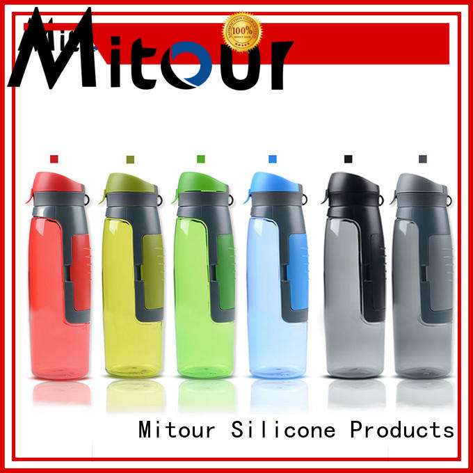 straight silicone sleeve bottle for wholesale for water storage