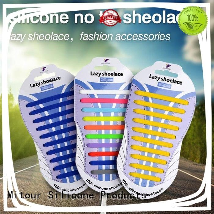 shoelace silicone inquire now for boots Mitour Silicone Products