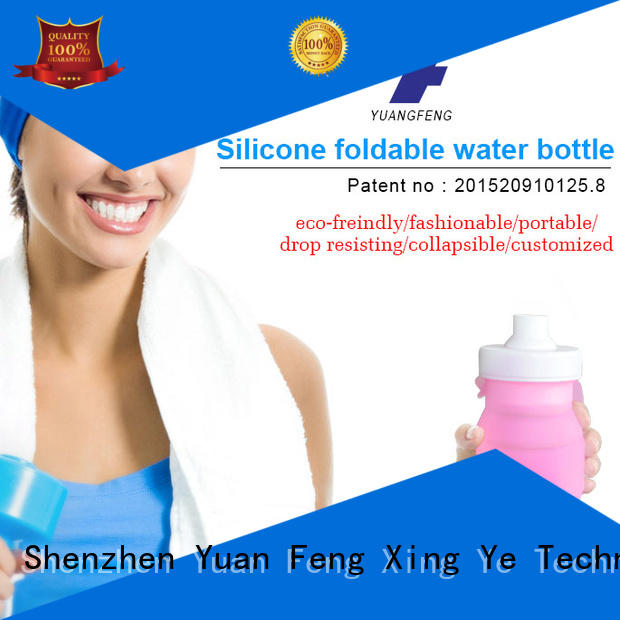 silicone kids silicone water bottle outdoor for water storage Mitour Silicone Products
