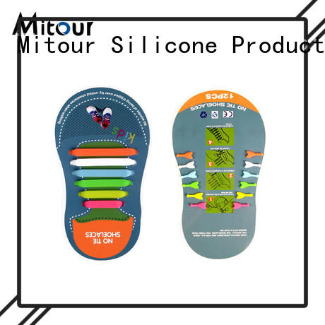 Mitour Silicone Products lazy sneakers without laces factory for child
