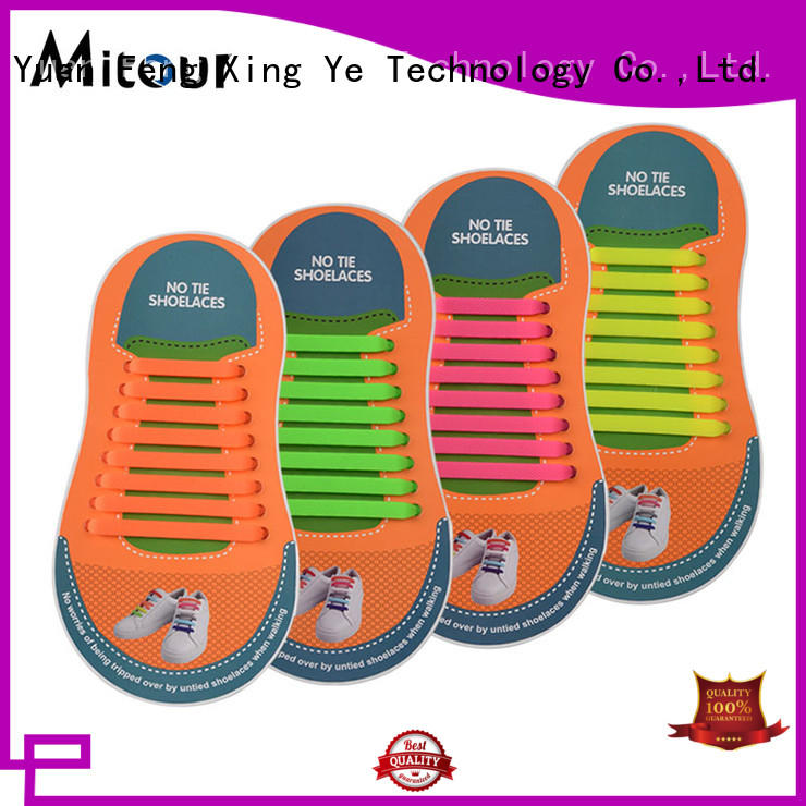 silicone no tie shoelaces silicone for shoes Mitour Silicone Products
