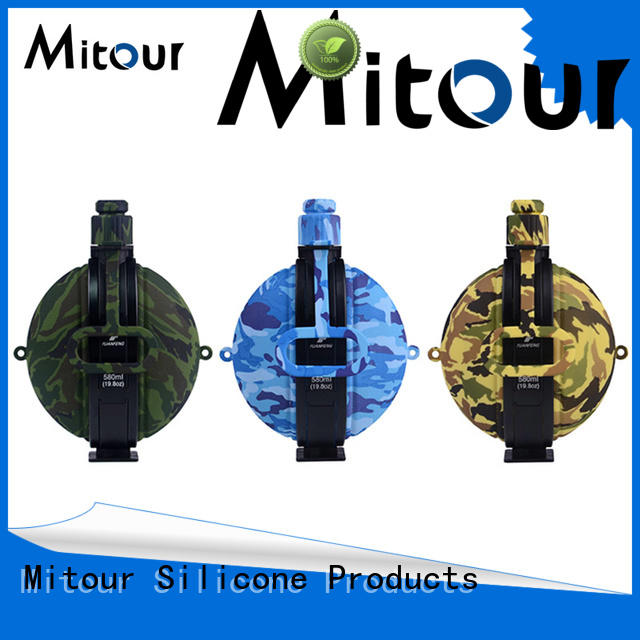 Mitour Silicone Products Custom water bottle trick for water storage
