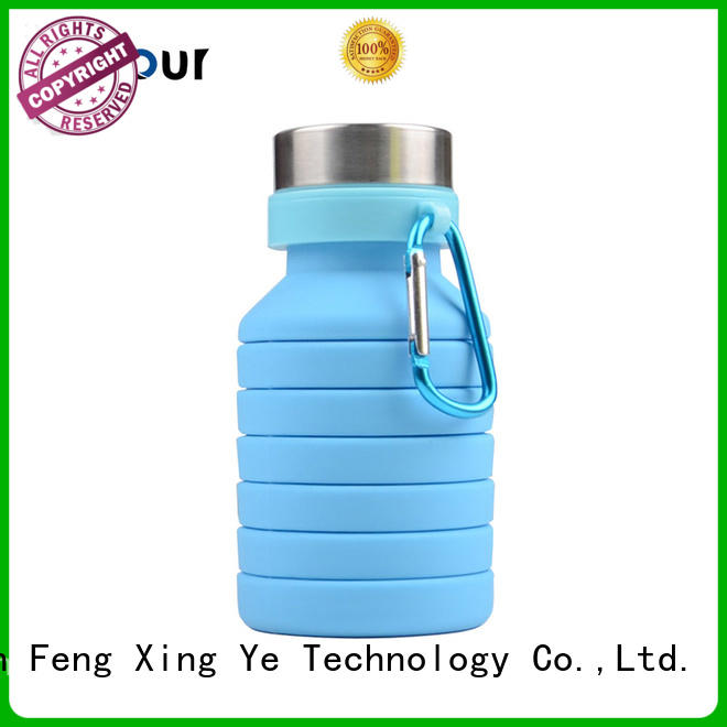 straight silicone folding bottle inquire now for children Mitour Silicone Products