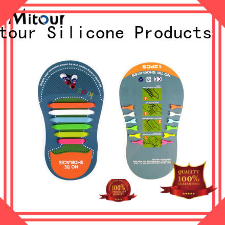 Mitour Silicone Products cheap silicone shoelaces for boots