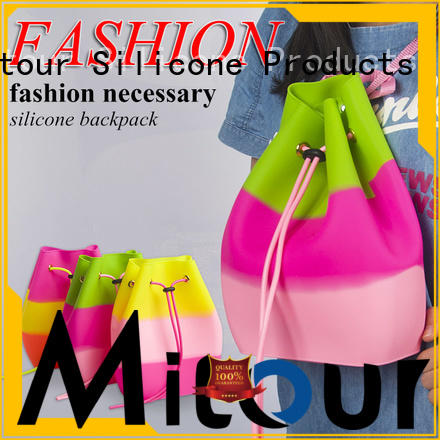 Mitour Silicone Products wholesale silicone tote bag tote for school