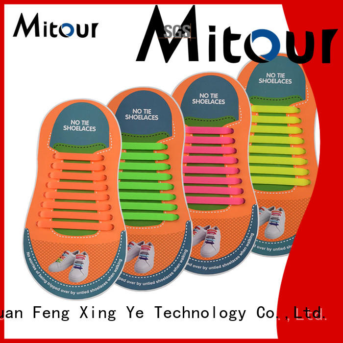 silicone shoelaces for child Mitour Silicone Products