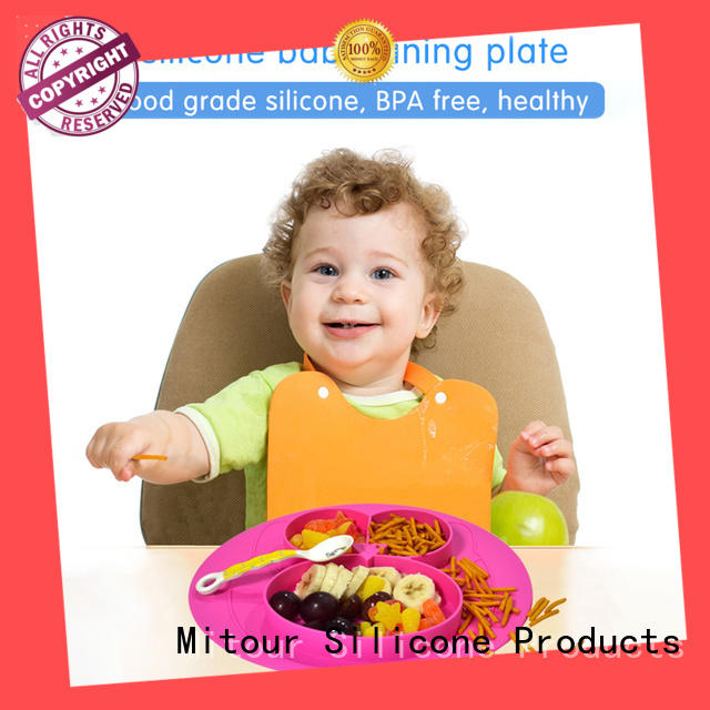 silicone placemat silicone placemat for baby Mitour Silicone Products