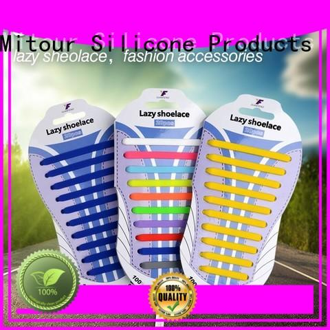 Mitour Silicone Products no tie shoelace silicone for child