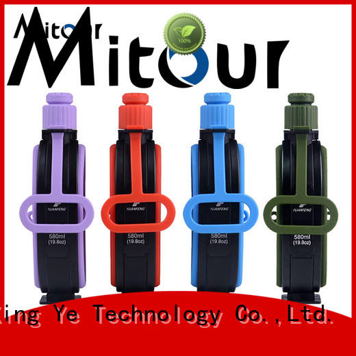 Mitour Silicone Products Custom bamboo water bottle for wholesale for water storage