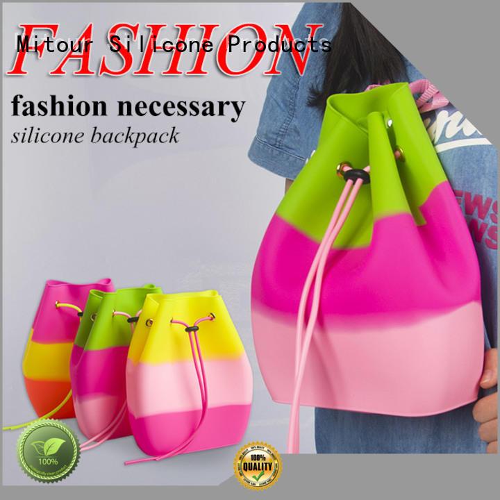 ODM designer handbag beach for boys Mitour Silicone Products