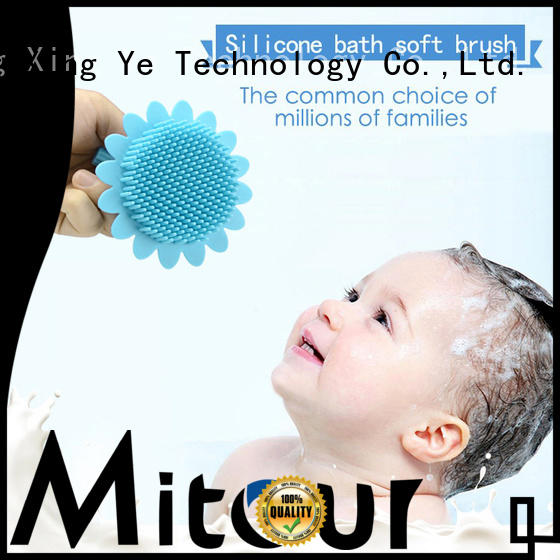 Mitour Silicone Products on-sale silicone makeup brush bulk production for baby