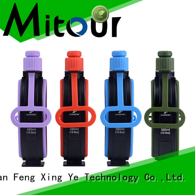 Mitour Silicone Products foldable glass beverage bottles inquire now for children