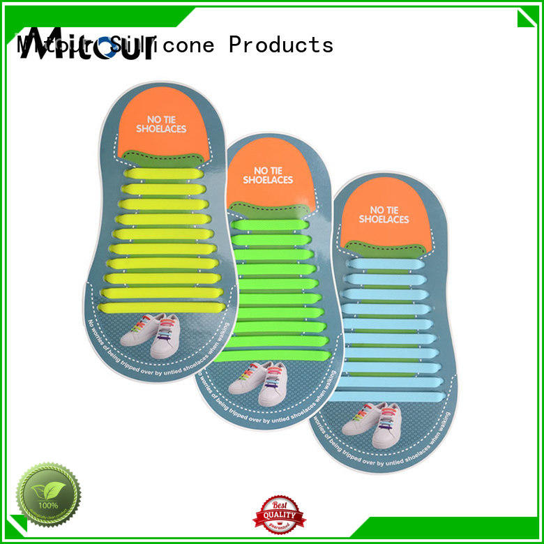silicone shoelaces shoe laces for shoes Mitour Silicone Products
