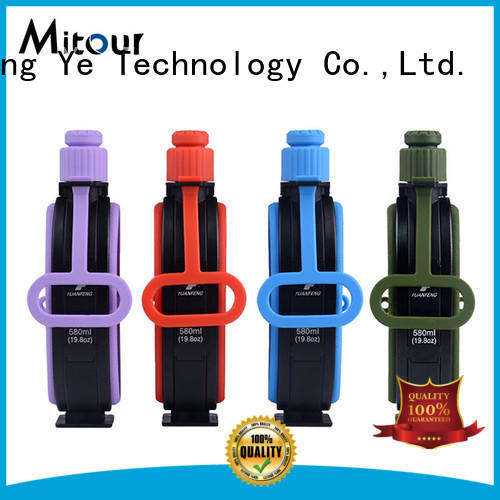 Mitour Silicone Products kettle foldable silicone bottle for water storage
