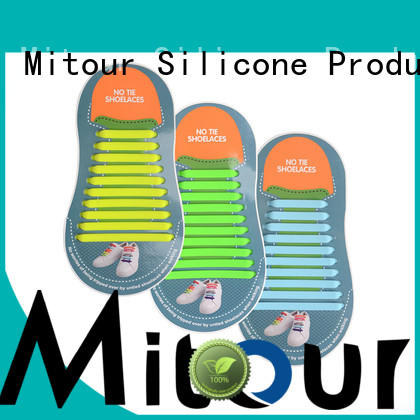 custom no tie elastic silicone shoelace inquire now for shoes Mitour Silicone Products