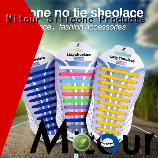 Mitour Silicone Products cheap silicone shoelaces shoe laces silicone for shoes