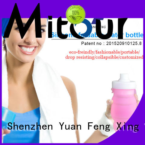 Mitour Silicone Products outdoor silicone bottle inquire now for water storage