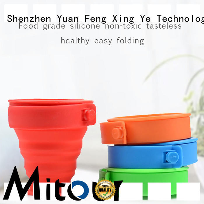 Mitour Silicone Products straight silicone cup for water storage
