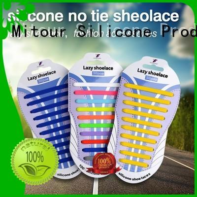 silicone shoelace no tie for shoes Mitour Silicone Products