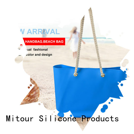 Mitour Silicone Products Best silicone tote bag bag for school
