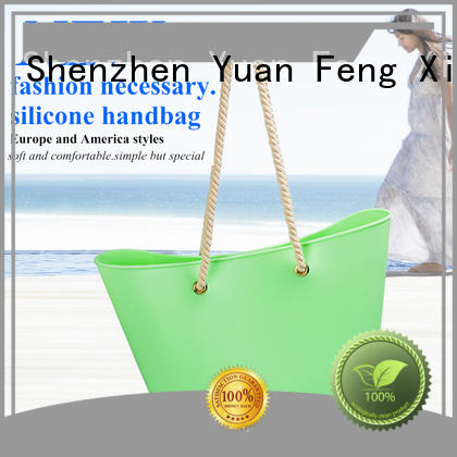 Mitour Silicone Products collapsible silicone handbag custom for girls
