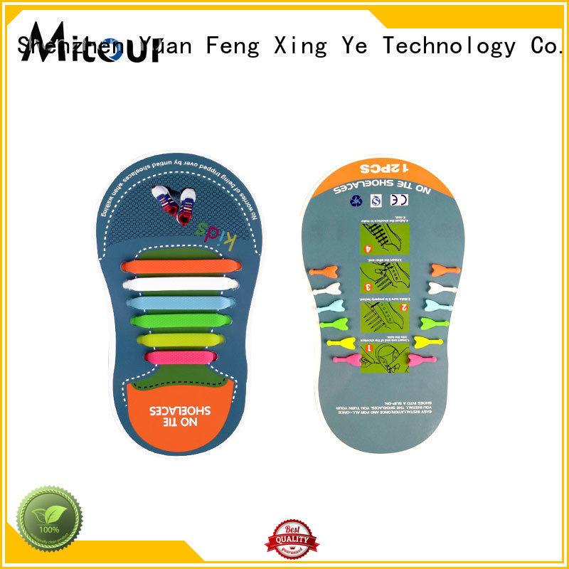 no tie silicone no tie laces for child Mitour Silicone Products