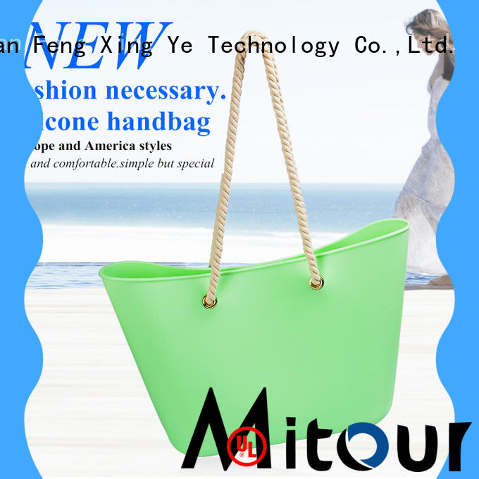 Mitour Silicone Products wholesale silicone toiletry bag beach for boys