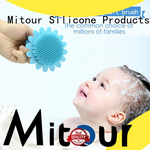 Mitour Silicone Products functional silicone face brush manufacturer for makeup