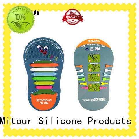 lazy silicone no tie shoelaces for shoes Mitour Silicone Products