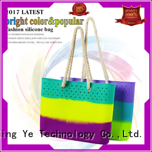 collapsible silicone shoulder bag for travel Mitour Silicone Products