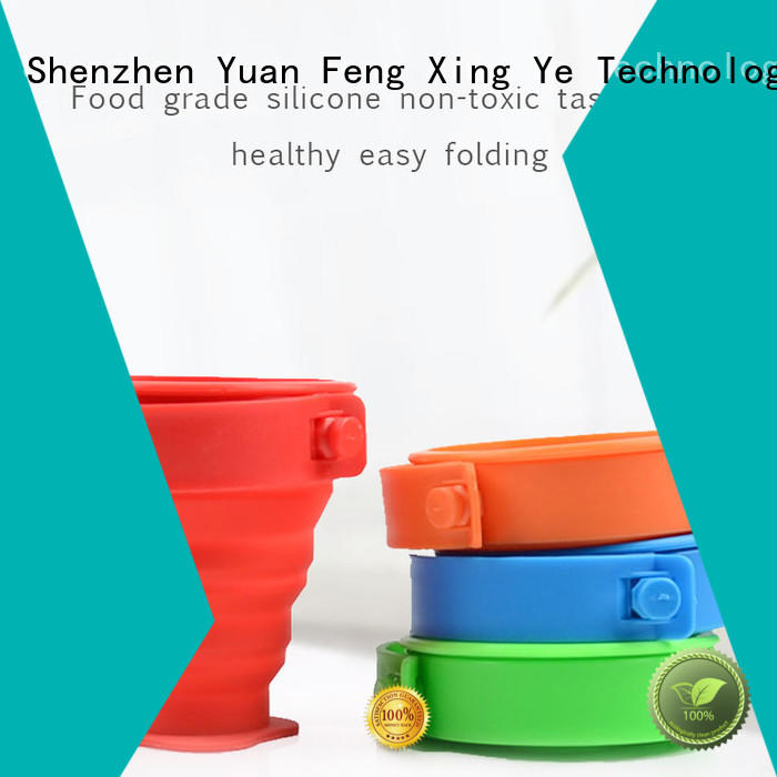 foldable silicone bottle squeeze for water storage Mitour Silicone Products