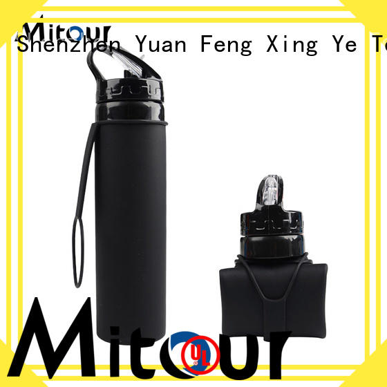 Mitour Silicone Products straight silicone water bottle kids purse for children