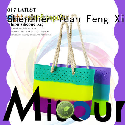 wholesale silicone hand bag beach manufacturer for trip